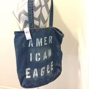 American Eagle Denim Shoulder Bag