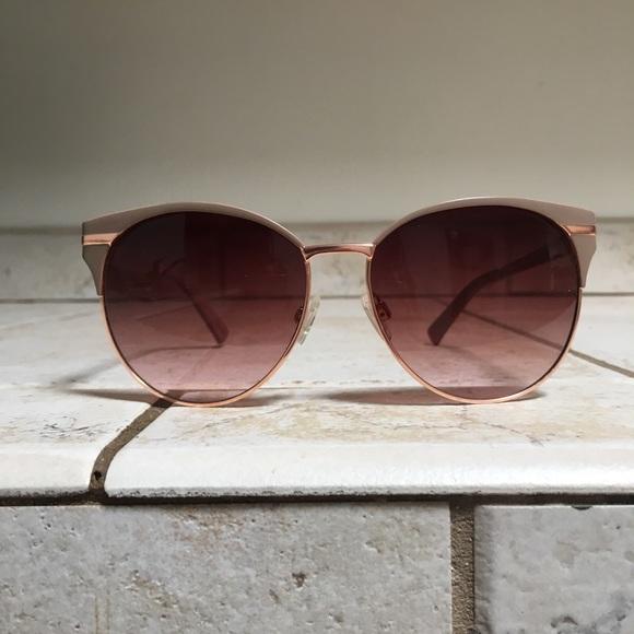 Camuto Gold Retro Vince Nude Sunglasses Round Rose hdsrtQ