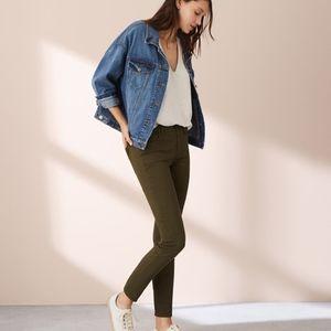 Pants - Lou & Grey Sample Skinny Olive Green Pants Sz L