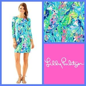 NWT Lilly Pulitzer Sophie Dress, Multi Purrfect