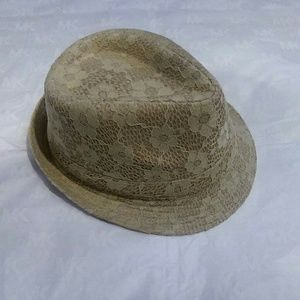 Accessories - Creamy beige color fedora hats