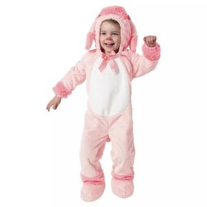 Other - Pink poodle Toddler Girls Costume Brand New 18-24M