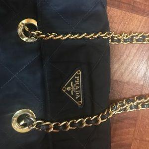 PRADA NAVY BLUE BAG