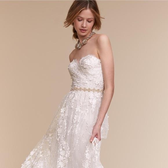 bhldn Dresses | Sia Gown Wedding Dress Brand New Size 2 | Poshmark