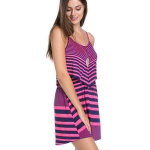 Dresses & Skirts - NWT Darling Bright Pink & Blue Flattering Dress