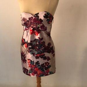 Tibi New York purples dress