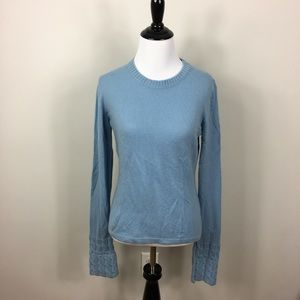 Burberry 100% Cashmere Cable Knit Sweater M