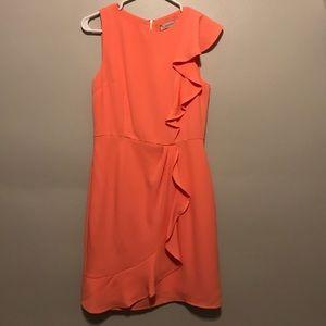 Oasis Peach Pink Dress