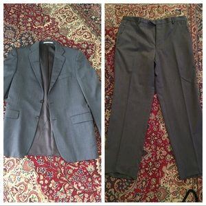 2pc Burberry London wool suit