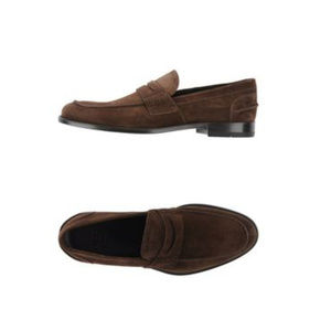 Doucal's Leather Suede Brown Loafers NWT
