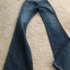 Paige premium denim flared jeans