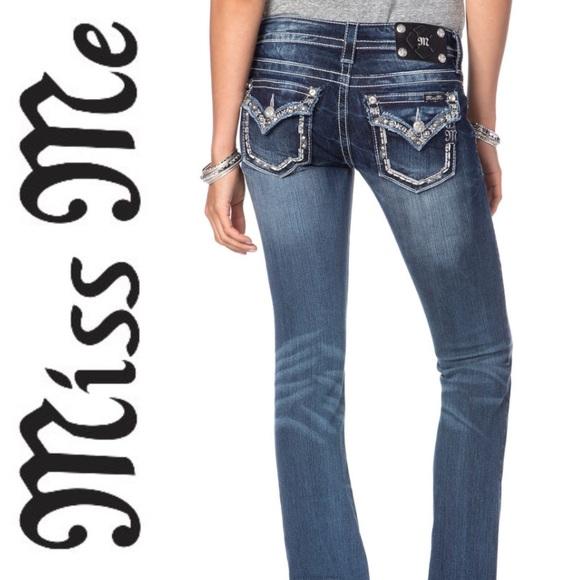 Miss Me Denim - Miss Me Straight Leg Jeans
