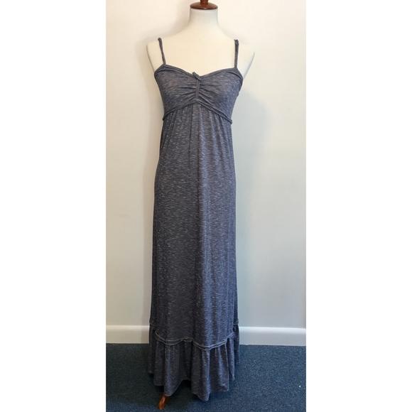 14133c8c09e Max Studio Blue Striped Maxi Dress - NWT - Medium