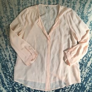 JOIE Pale Pink button-down