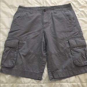 Mossimo ripstop cargo shorts light gray size 34