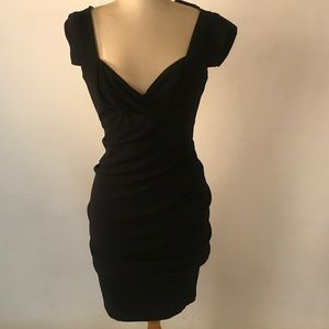 Nicole Miller studio little black dress