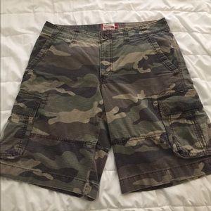 Mossimo ripstop cargo shorts camo size 34