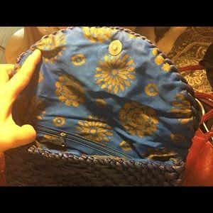 Bags - Blue clutch