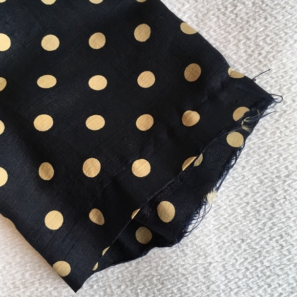 Vintage Jackets & Coats - 1950s Vintage Silk Polka Dot Cropped Jacket