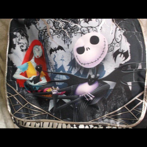 df6d0015039 The Nightmare Before Christmas Large Messenger Bag. NWT. Disney