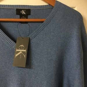 Calvin Klein Atlas Blue Pullover Sweater
