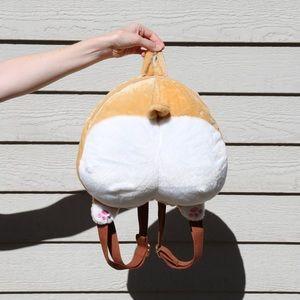 Handbags - Corgi Butt Bum Backpack