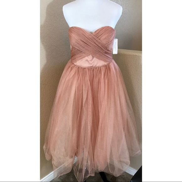 9e5ff9539 Donna Morgan Dresses | Kenna Mesh Tulle Dress | Poshmark