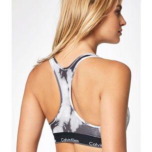 ea0a46a97a Calvin Klein Intimates   Sleepwear - Calvin Klein Tie Dye Modern Sports Bra
