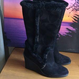 👢🎉Coach Boot 🌺