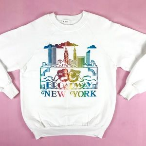 Tops - SOLD 🌈 VTG New York broadway sweatshirt