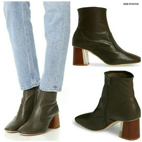 2b2d45cf727 Jeffrey Campbell Shoes - JEFFREY CAMPBELL Kovacs Leather Bootie