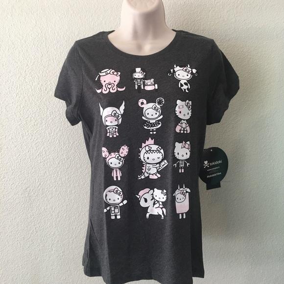 954813acc70db 100% Authentic Hello Kitty X Tokidoki Tshirt L