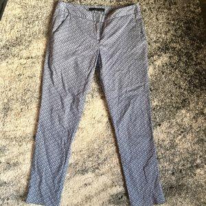 Amanda + Chelsea Patterned Trouser Pant