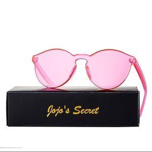 Accessories - Transparent pink sunglasses