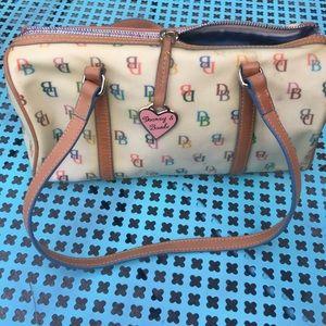 Dooney & Bourke rainbow purse vintage