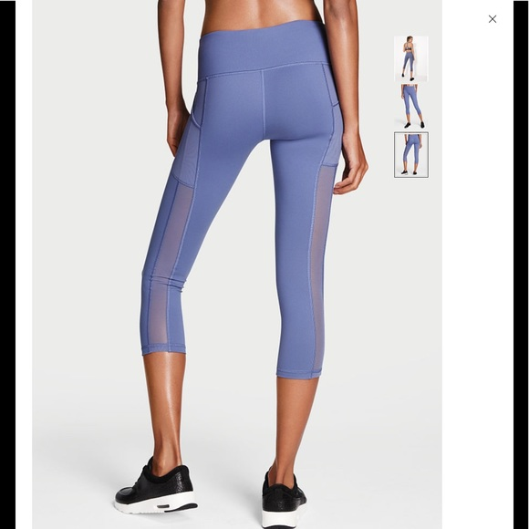 b56e5ea751cf9 Victoria's Secret Pants | Knockout By Victoria Sport Pocket Capri ...