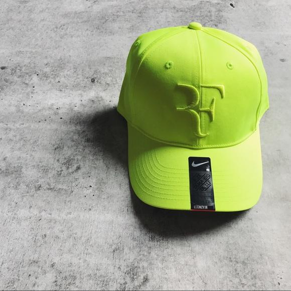 Roger Federer Neon Yellow Premier Hat