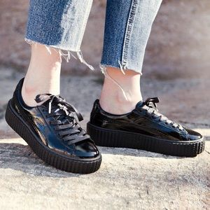 Puma Creeper Wrinkled Patent X Fanty By Rihanna