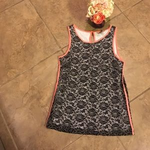 banana republic tank size 8