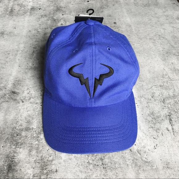 63f0113b508 Nike Rafa Nadal Blue Twill H86 Aerobill Hat