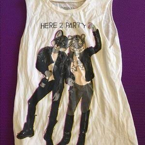 Party muscle tee