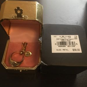 JUICY COUTURE 2007 CLASS GRADUATION RING CHARM