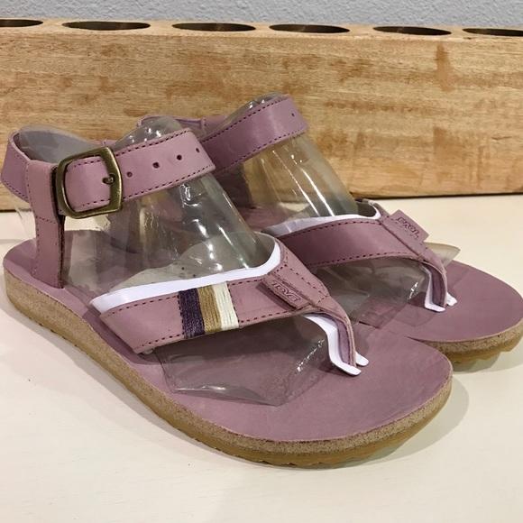 977b08134031 Sale 💙 Teva Original Sandal Leather Elderberry