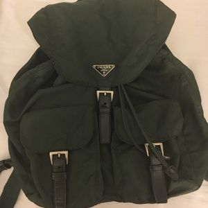 💯authentic Prada Backpack