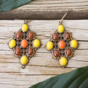 FALL  Gorgeous Autumn Colored Earrings