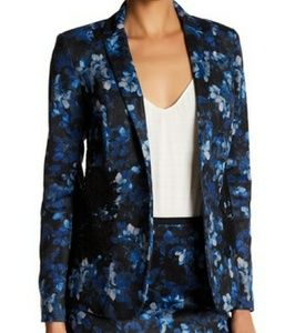 T Tahari Lily Floral Blazer Jacket