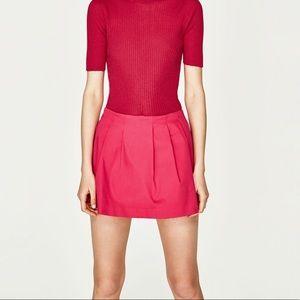 Zara Pink Mini Skort