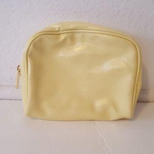 bareMinerals Yellow Makeup Bag