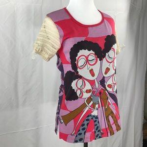 CUSTO BARCELONA Vintage T Shirt Size Large