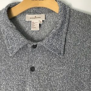Ermenegildo Zegna Polo Men's Large short sleeve